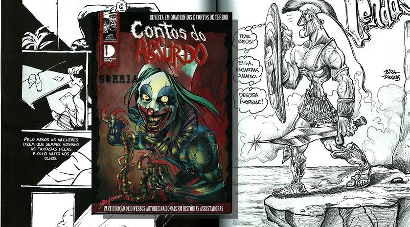 RESENHA/ Contos Do Absurdo – Revista em Quadrinhos e Contos de Terror